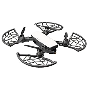 Creazy New 4pcs Props Propeller Guard Bumper Blade Crash Protector For DJI Spark Drone (Black)