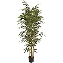Deco 79 20571 Natural Polyethylene Potted Bamboo Tree