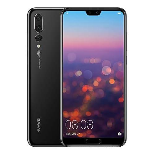 chollos oferta descuentos barato Huawei P20 Pro Smartphone de 6 1 Kirin 970 AI 6G de RAM 128 GB de memoria interna Triple Cámara Leica Android 8 1 Single Sim Color Negro Versión española