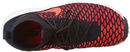 Brght Rd Nero Footscape gym Crmsn Blk da Flyknit Magista Calcio Grigio Nike Air Gry cl Scarpe Uomo Rosso Arancione 6wHqO