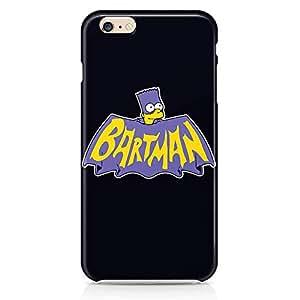 Loud Universe Bartman Bart Simpson iPhone 6 Case Batman The Simpson iPhone 6 Cover with 3d Wrap around Edges