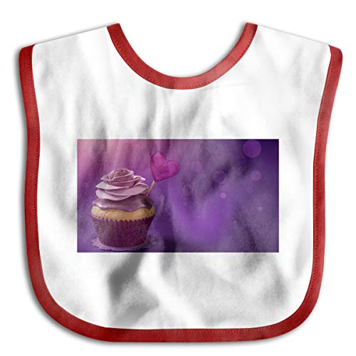 - Toddler Baby Bandana Drool Bibs Valentine's Cake Saliva Neck Towel Cotton