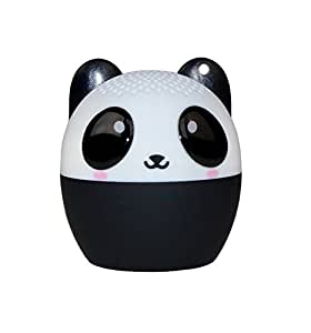 My Audio Pet Mini Bluetooth Animal Wireless Speaker with Powerful Rich Room-filling Sound - 3W audio driver - Remote Selfie Function - for iPhone/iPad/iPod/Samsung/HTC/Tablets - PANDAmonium