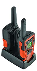 The CXT 1035R FLT two-way radios come pre-charged and ready to use out of the box and have a max performance range of 37 miles. The radios' compact design and rubberized grip make them easy to carry in wet and dusty environments and even if y...
