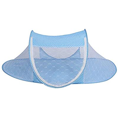 Mosquito Guard Baby Crib Net Netting Soft Baby Mosquito Net Bed Foldable Portable Newborn Netting Tent for Cot Bed Summer 0-1 Age Baby