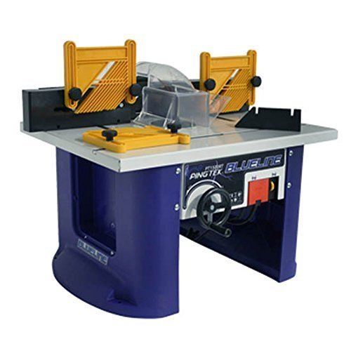 Woodworking router table amazon pingtek blueline 240v bench top router table with built in 1500w 2hp router greentooth Gallery