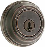 Kwikset Signature Series 99850-057 Venetian Bronze SmartKey Double Cylinder Deadbolt