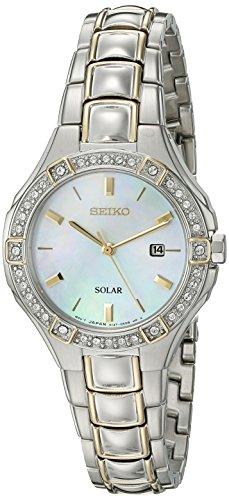 Seiko Women's 'Sport Watches' Quartz Stainless Steel Dress Watch (Model: SUT282)