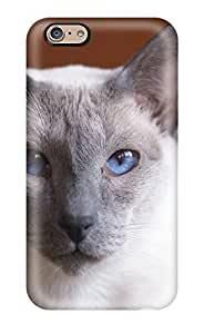 Fashion Tpu Case For Iphone 6- Blue Eyed Cat Defender Case Cover wangjiang maoyi