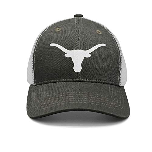 Army-Green Unisex Mens Vintage Casual Nice Cap Hat Fishing Longhorn-Clipart-Silhouette-