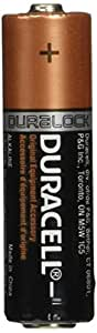 Duracell  MN1500 AA Batteries , 100 Pack Count