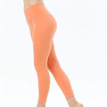 GSYJK Yoga Elásticos Pantalones De Correr Chica Fitness ...