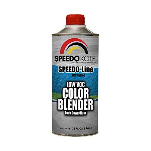 - Speedokote Color Blender Lock Down Clear Low 2.1 voc, Ready to Spray, Quart, SMR-3500LV-Q