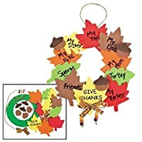 Wreath Of Thanks Craft Kit - Religious Crafts & Crafts for Kids