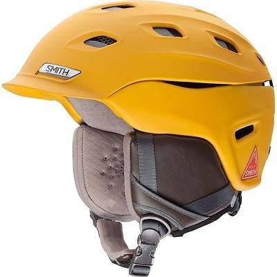 835a9a3c150c5 Smith Optics Unisex Adult Vantage MIPS Snow Sports Helmet - Matte Mustard  Conditions Medium (55