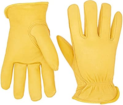 Boss Gloves Boss Therm Premium Grain Deerskin Leather Driver