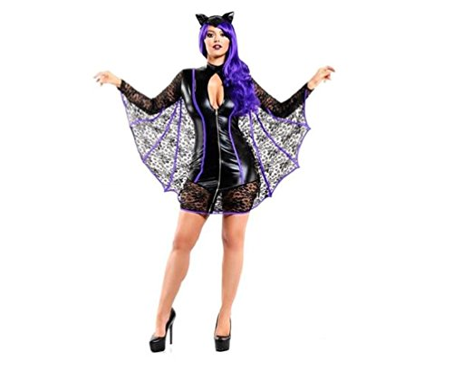 [CICI 18 Vampire Lady Costume for Women (Large)] (2016 Womens Halloween Costumes Diy)
