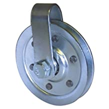 Ideal Security Inc. SK7113 3-Inch Pulley, Galvanized