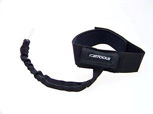 ICETOOLS Lock Leash mal eben das Snowboard anschlie/ßen und die Bein Leash f/ür alle Snowboarder und Raceboarder