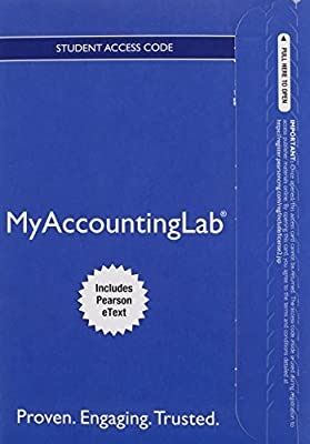 MyAccountingLab with Pearson eText -- Access Card -- for Horngren's Financial & Managerial Accounting, The Managerial Chapters