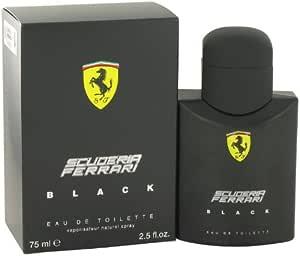 Scuderia Ferrari Black by Ferrari for Men - Eau de Toilette, 75ml