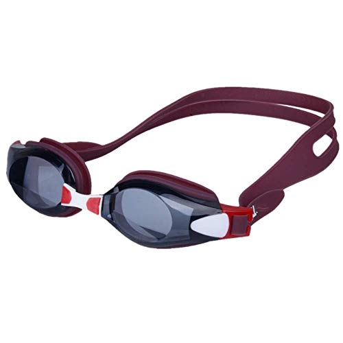 CHAOZHAOHENG Swimming Goggles, Goggles, Leak-Free Anti-Fog, Anti-UV, Triathlon Swimming Goggles and Free Protective Cover for Adult Males, Females, Teenagers, Children.