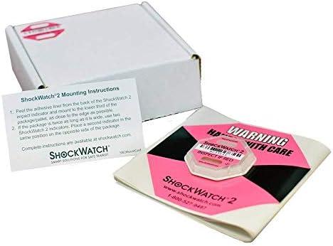 ShockWatch 2 Shipping Damage /& Impact Indicator10 Packs