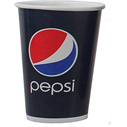 Cold Cup de beker, Pepsi, cartón en Coating, 220 ml, 7.5oz