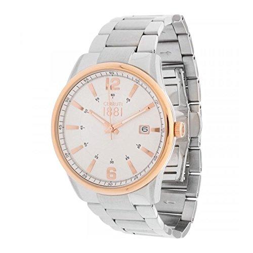 Cerruti 1881 CRA103STR04MS-I men's quartz wristwatch