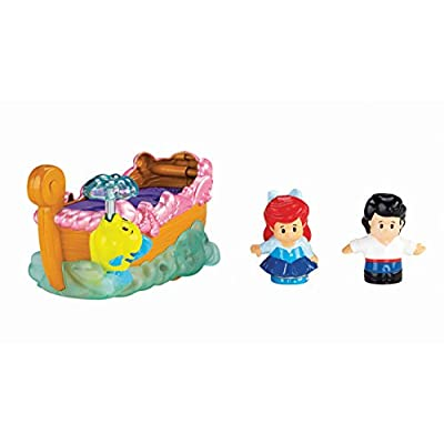 Fisher-Price Little People Disney Princess Ariel's Boat Ride Toy: Toys & Games