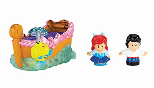 Fisher-Price Little People Disney Princess Ariel's Boat Ride Toy by Fisher-Price (Image #1)