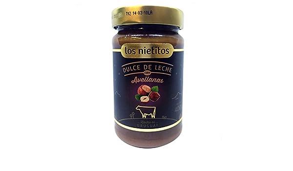 Dulce de Leche con Avellanas Los Nietitos Uruguayo: Amazon.es: Alimentación y bebidas