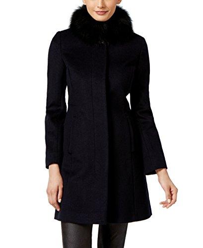 Via Spiga Womens Wool-Blend Coat, (Via Spiga Blend Coat)
