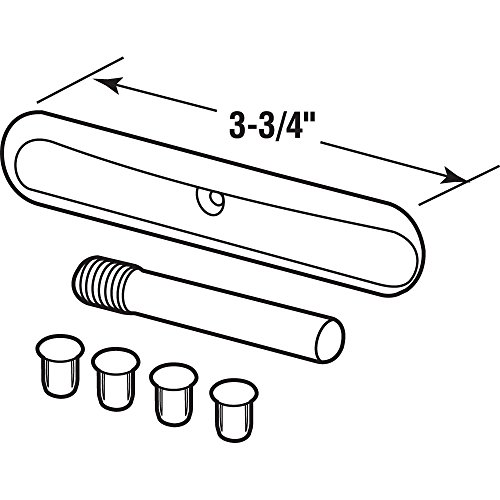 Prime-Line KC61-3 Replacement Parts Kit For Safety Spring Door Closer, Silver, Pack of 1 by Prime-Line Products (Image #1)