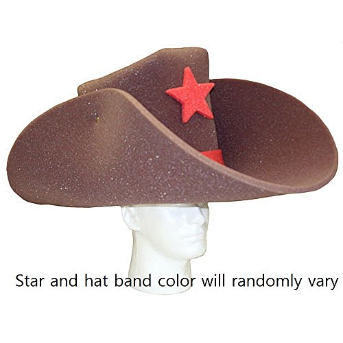 Super Sized 50 Gallon Foam Cowboy Hat - Brown - Buy Online in KSA. Apparel  products in Saudi Arabia. See Prices 6c2ec6ed3e5