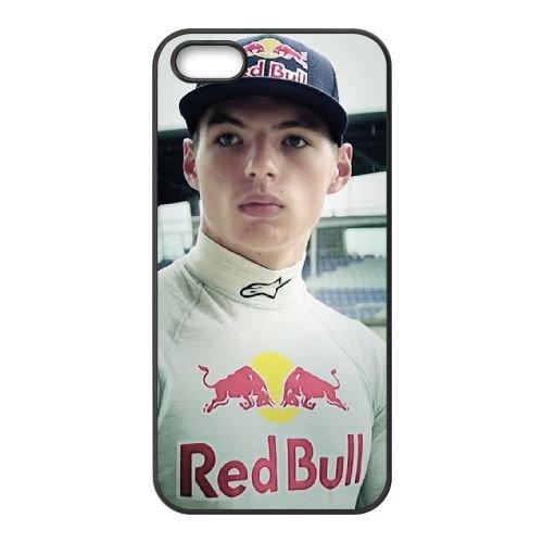 Max Verstappen 2 coque iPhone 5 5S cellulaire cas coque de téléphone cas téléphone cellulaire noir couvercle EOKXLLNCD25894