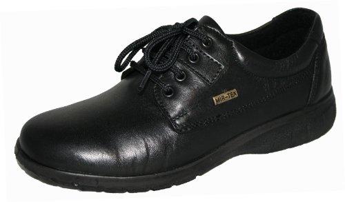 3 Chaussures nbsp;UK Noir en lacets imperméable cuir Cotswold à Ruscombe Mesdames 5w1qpan8