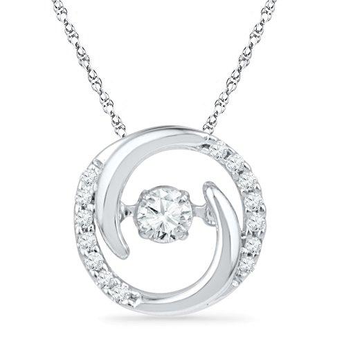Prices for Diamond Circle Star Pendant - 1