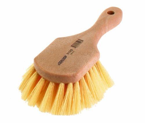Osborn 81018SP Short Handle Utility Scrub Brush, 4-3/4