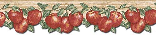Apple Fruits Wallpaper Border GS96026DB
