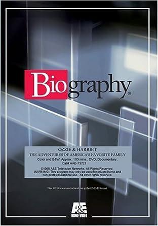 Amazon com: OZZIE & HARRIET: Biography, Peter Jones: Movies & TV