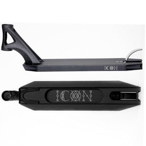 Drone Icon Deck Matte Black 4.70W X 19.50L by Drone