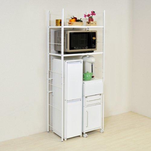 キッチン収納伸縮ラック小 (棚4) B00ARR6JT2 棚4  棚4