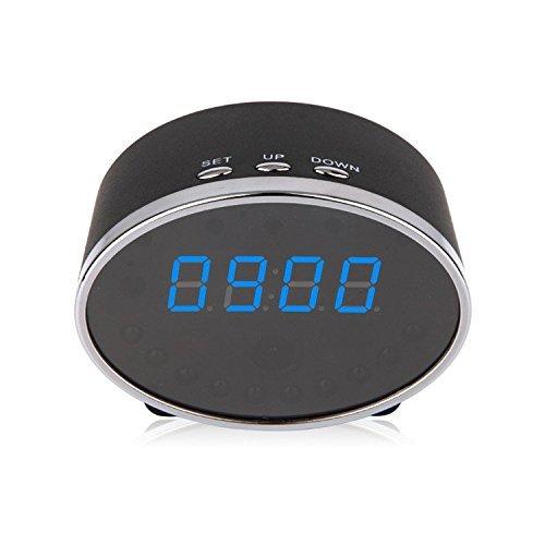 Poray 1080P Clock Hidden Wifi Camera Remote Control Motion Detector Night Vision [並行輸入品] B01KBR8I9G