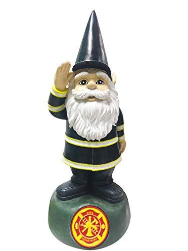 Red Carpet Studios 35165 Outdoor Garden Gnome, Fire Department (Police Lawn Gnome)