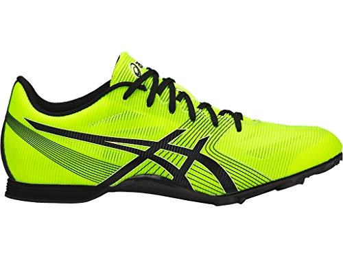 ASICS Men's Hyper MD 6 Track & Field Shoes, 8M, Safety Yellow/Black