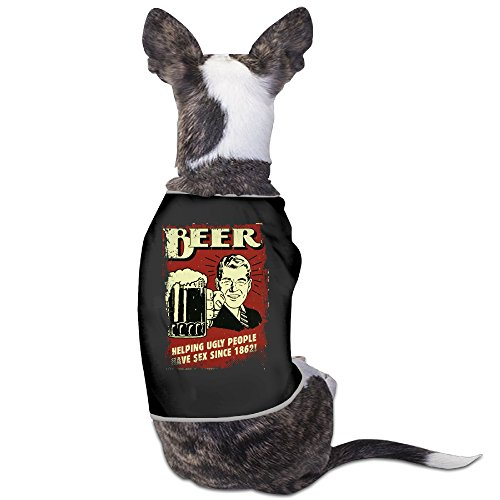 Funny Beer Since 1862 Tin Sign Pet Dog T Shirt. ()