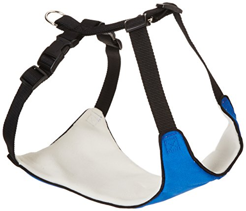 Lift & Lead 4-In-1 Dog Harness, Large, Blue (4in 1 Dog Lift)