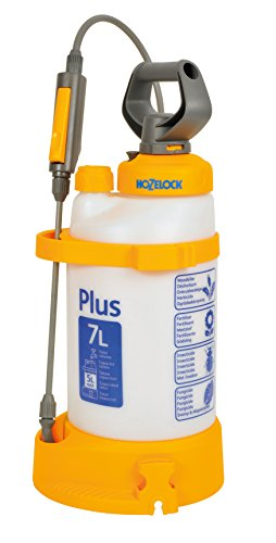 Hozelock Pressure Sprayer Plus 7 Litre (max fill* 5L)