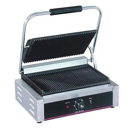 Bhavya enterprises Stainless Steel Commercial Sandwich Griller (Silver,Standard 9x9)